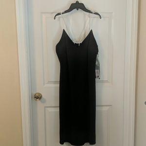 Karl Lagerfeld Pearl Strap Dress